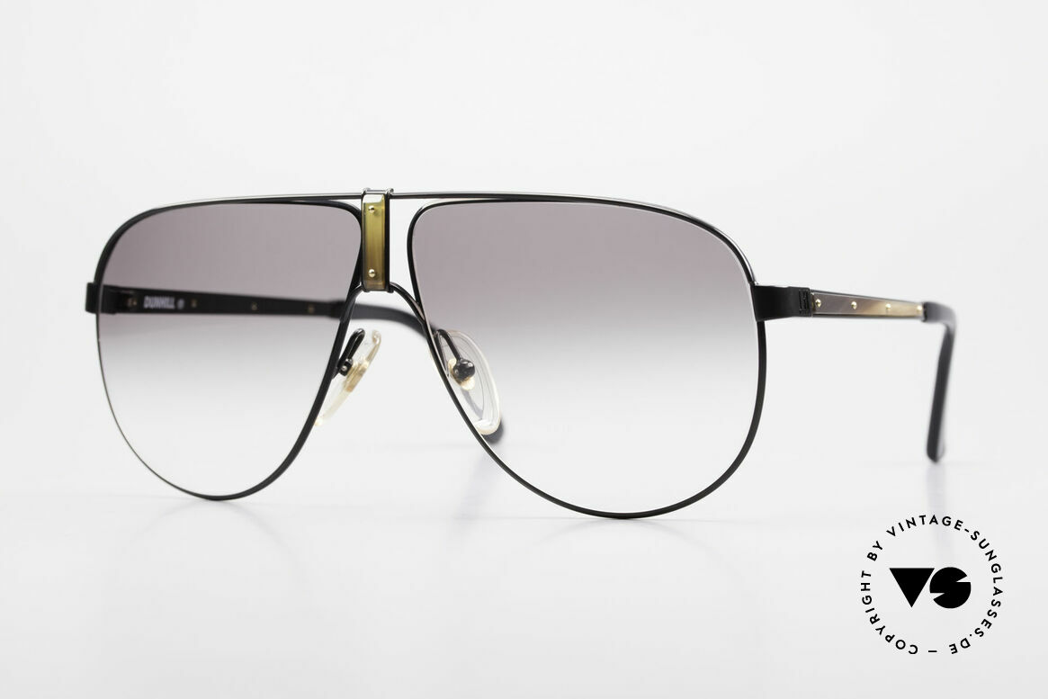 Dunhill 6043 Men's Shades With Horn Trims, very elegant men's Dunhill aviator sunglasses, Made for Men