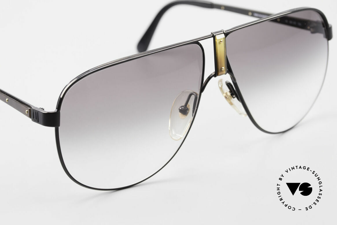 Dunhill 6043 Men's Shades With Horn Trims, rare vintage designer sunglasses from app. 1990, Made for Men