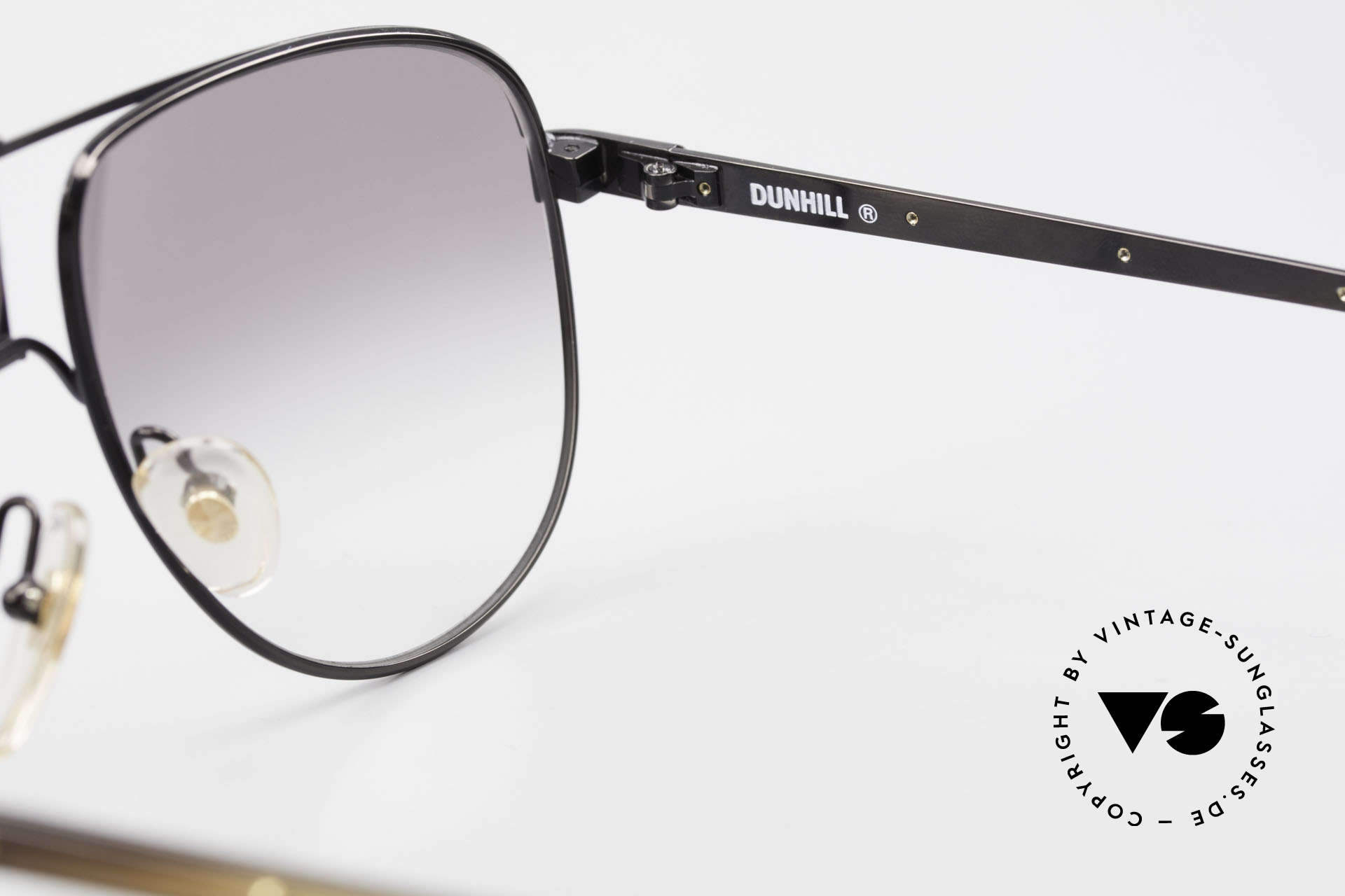 Dunhill 6043 Men's Shades With Horn Trims, NO RETRO specs; an authentic 90's one of a kind, Made for Men