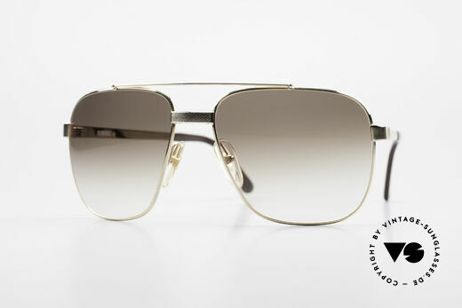Dunhill 6036 Gold Plated Frame Comfort Fit Details