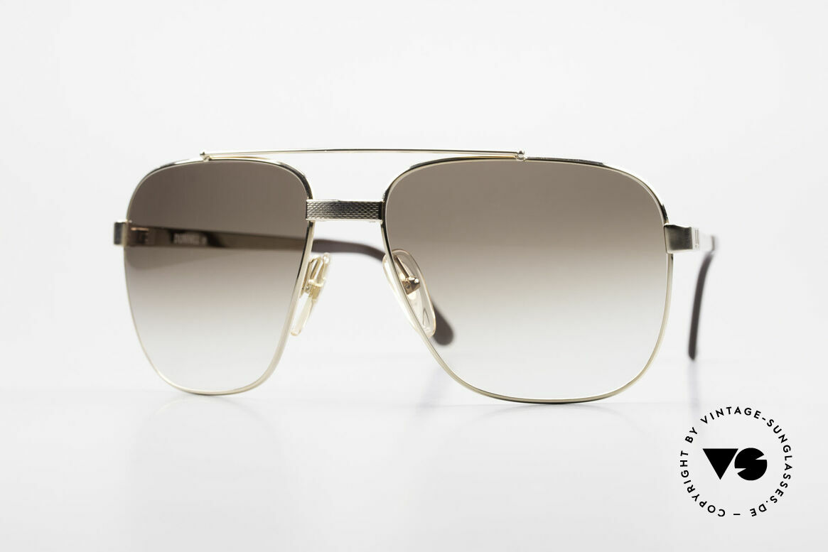 Dunhill 6036 Gold Plated Frame Comfort Fit, precious DUNHILL vintage  sunglasses from 1989/1990, Made for Men