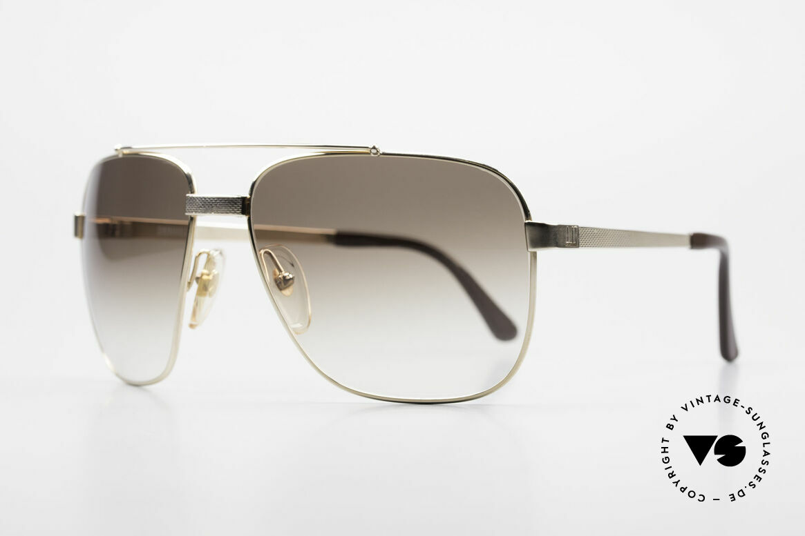 Dunhill 6036 Gold Plated Frame Comfort Fit, costly, GOLD-PLATED frame in LARGE size 61-17, 135, Made for Men