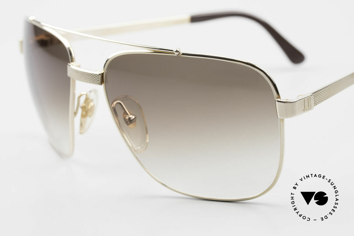Dunhill 6036 Gold Plated Frame Comfort Fit, 'barley': hundreds of minute facets to give a soft sheen, Made for Men