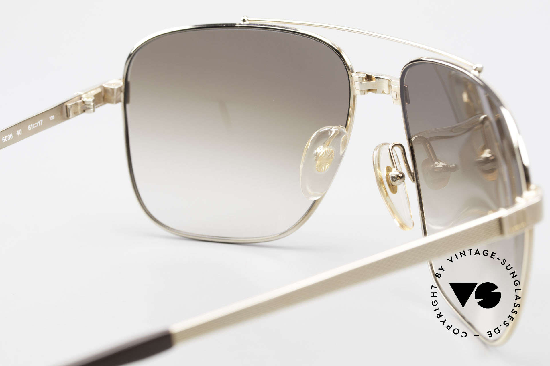 Dunhill 6036 Gold Plated Frame Comfort Fit, Size: large, Made for Men