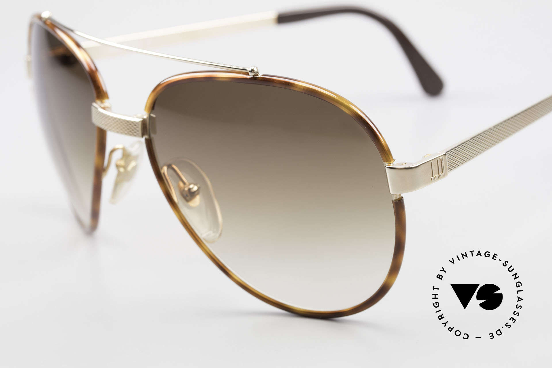 Dunhill 6023 80's Sunglasses Luxury Aviator, simply, a high-class and elegant vintage classic, Made for Men
