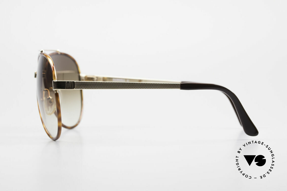 Dunhill 6023 80's Sunglasses Luxury Aviator, unworn (like all our vintage luxury sunglasses), Made for Men