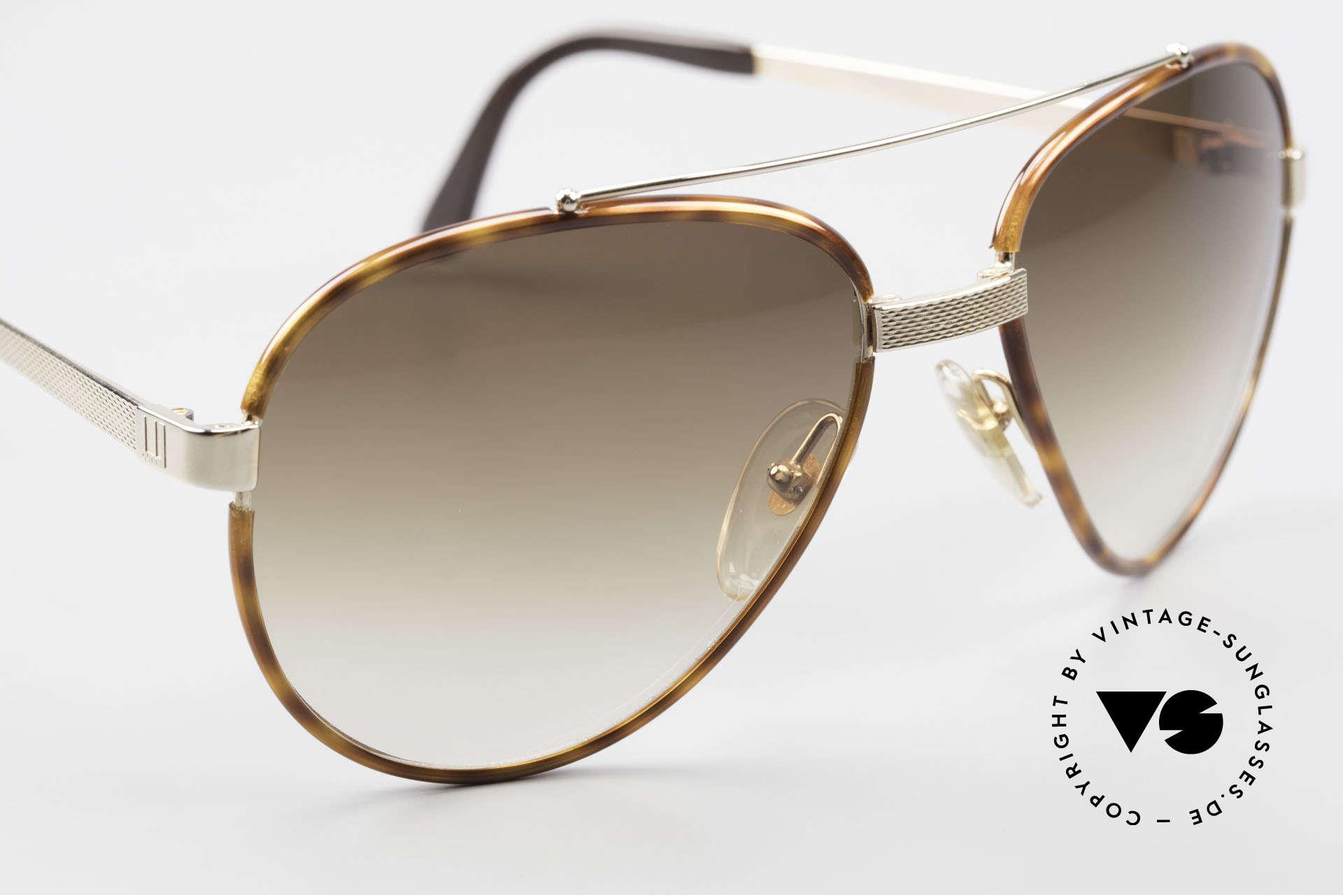 Dunhill 6023 80's Sunglasses Luxury Aviator, NO RETRO, but a precious 35 years old original, Made for Men