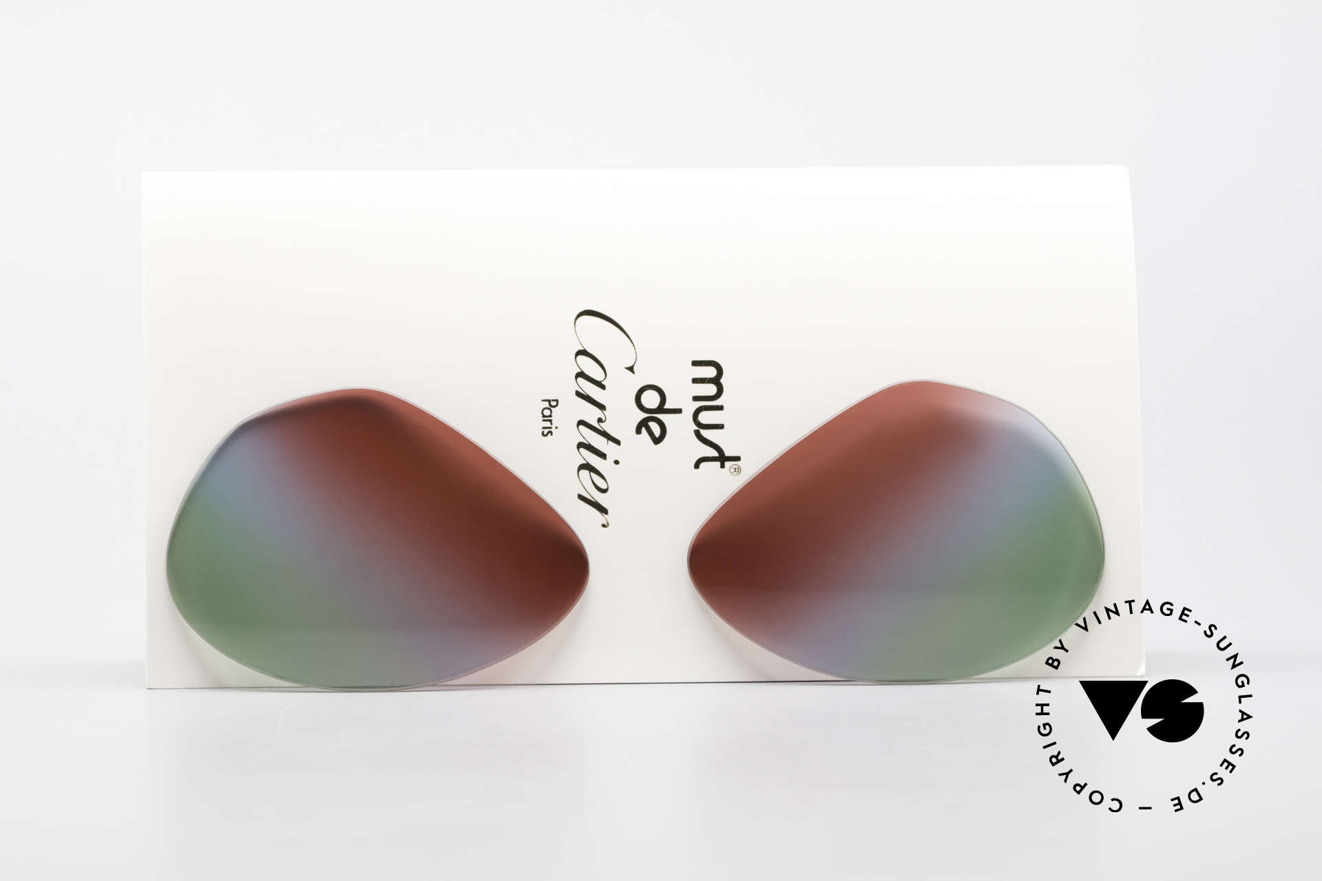Cartier Vendome Lenses - L Bordeaux Polar Lights Tricolor, replacement lenses for the old Cartier Vendome 62mm!, Made for Men and Women