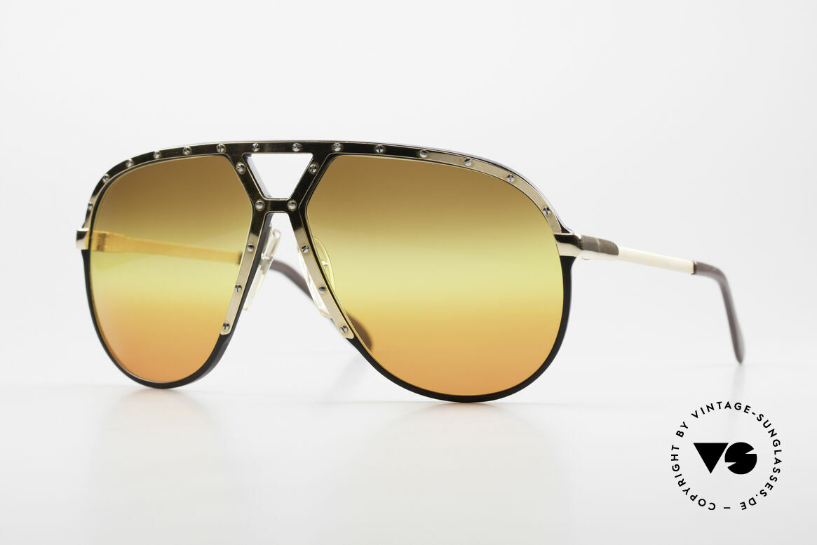 Alpina M1 80's Sunglasses Customized, old WEST GERMANY sunglasses by ALPINA, M1, Made for Men