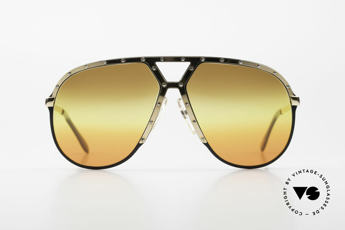 Alpina M1 80's Sunglasses Customized, Stevie Wonder made the M1 model his trademark, Made for Men