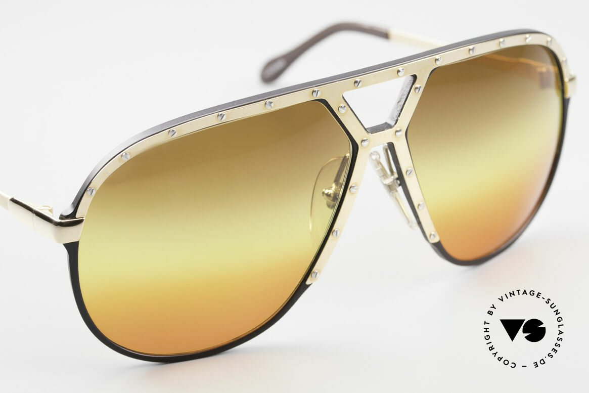 Alpina M1 80's Sunglasses Customized, unworn collector's item comes with a Porsche case, Made for Men