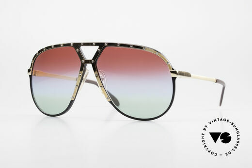 Alpina M1 Customized 80's Sunglasses Details