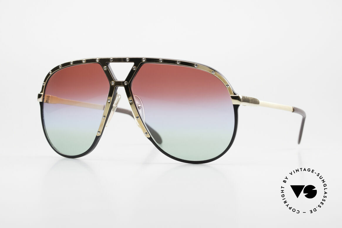 Alpina M1 Customized 80's Sunglasses, old sunglasses by ALPINA, M1, WEST GERMANY, Made for Men