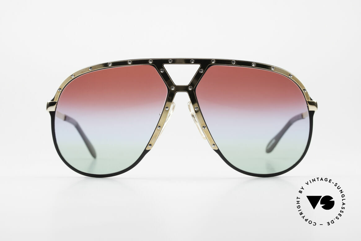 Alpina M1 Customized 80's Sunglasses, Stevie Wonder made the M1 model world famous, Made for Men