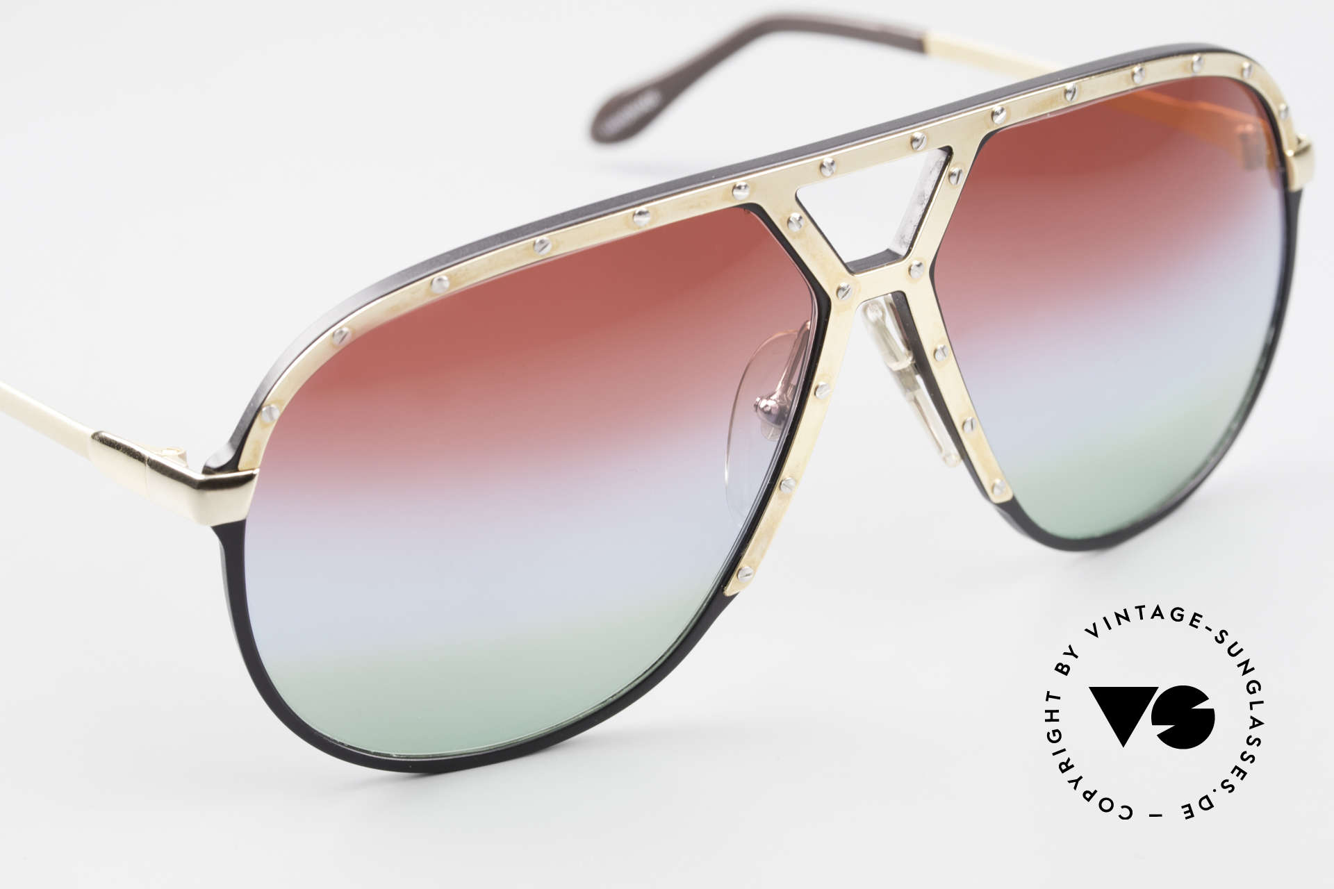 Alpina M1 Customized 80's Sunglasses, unworn collector's item comes with a Porsche case, Made for Men