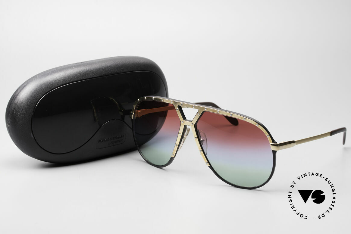Alpina M1 Customized 80's Sunglasses, Size: large, Made for Men
