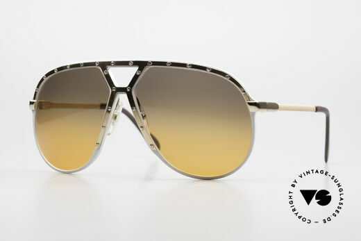 Alpina M1 80's Sunglasses One Of A Kind Details