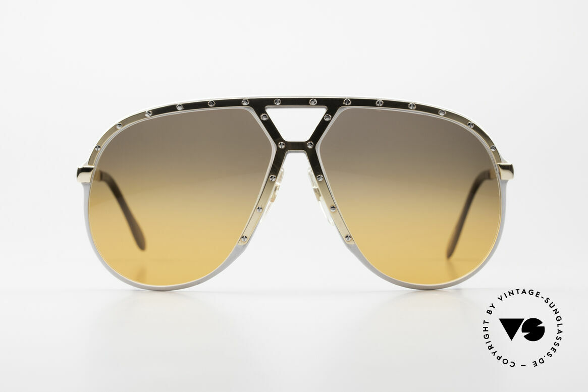 Alpina M1 80's Sunglasses One Of A Kind, Stevie Wonder made the M1 model his trademark, Made for Men
