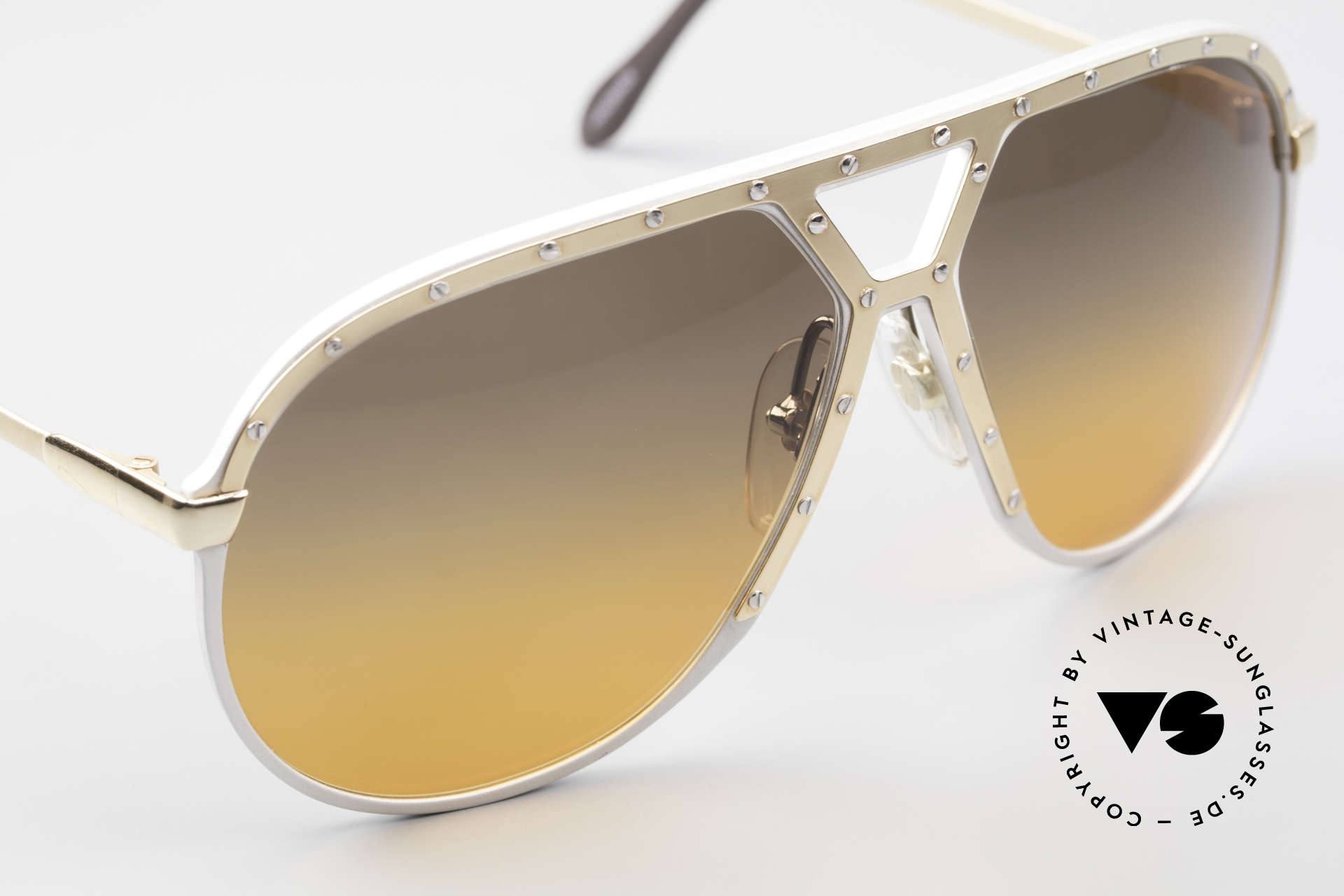 Alpina M1 80's Sunglasses One Of A Kind, unworn collector's item comes with a Porsche case, Made for Men