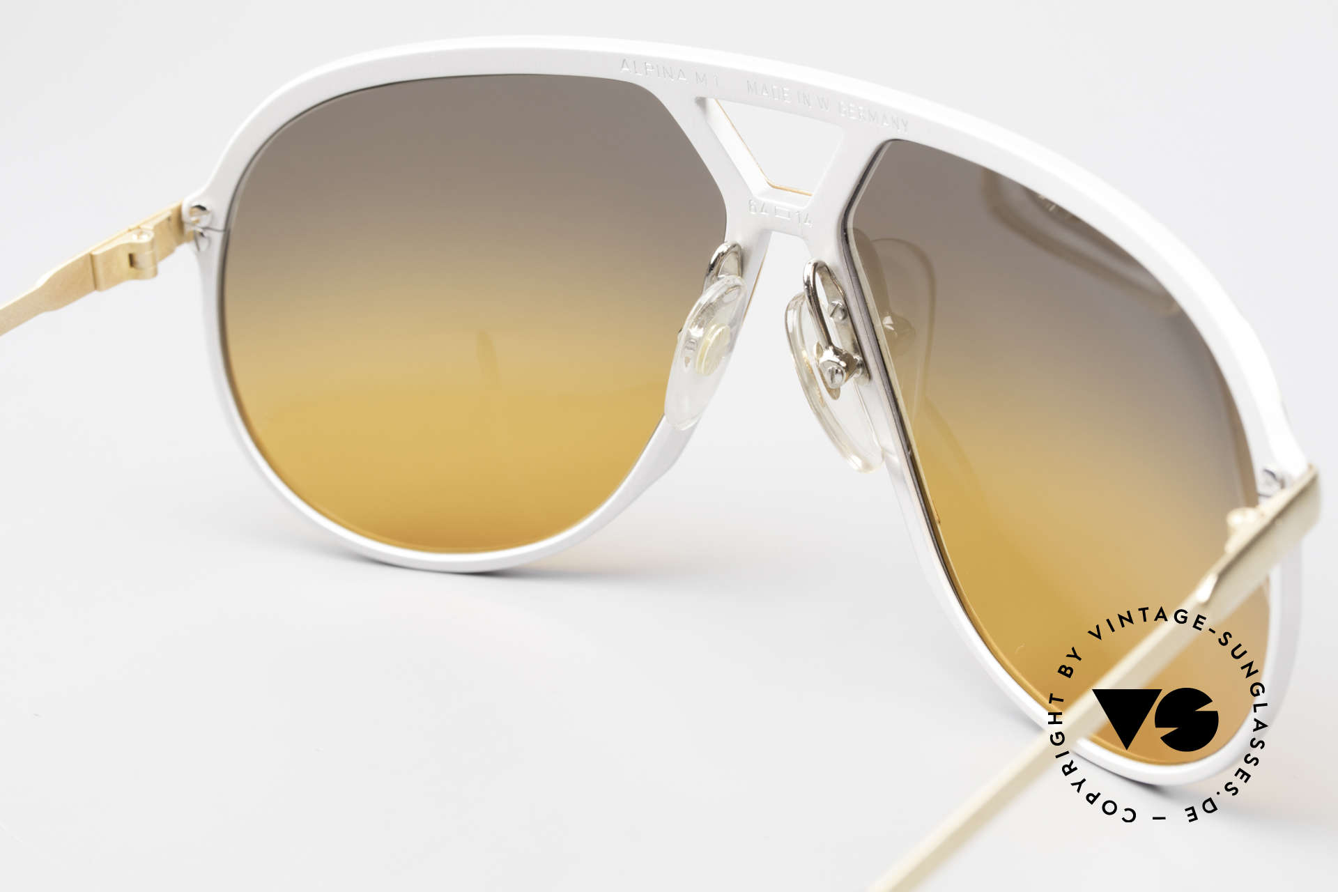 Alpina M1 80's Sunglasses One Of A Kind, NO RETRO EYEWEAR, but a 35 years old RARITY!, Made for Men
