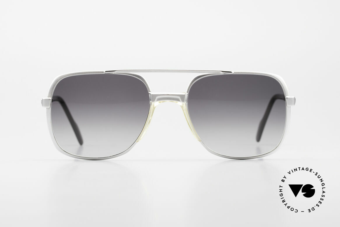 Metzler 0766 1980's Old School Sunglasses, sturdy frame with double bridge (incredible quality), Made for Men