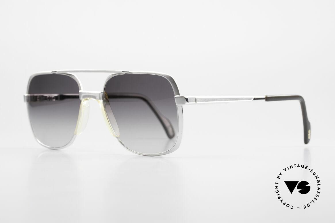 Metzler 0766 1980's Old School Sunglasses, the former chancellor Helmut Kohl wore this model, Made for Men