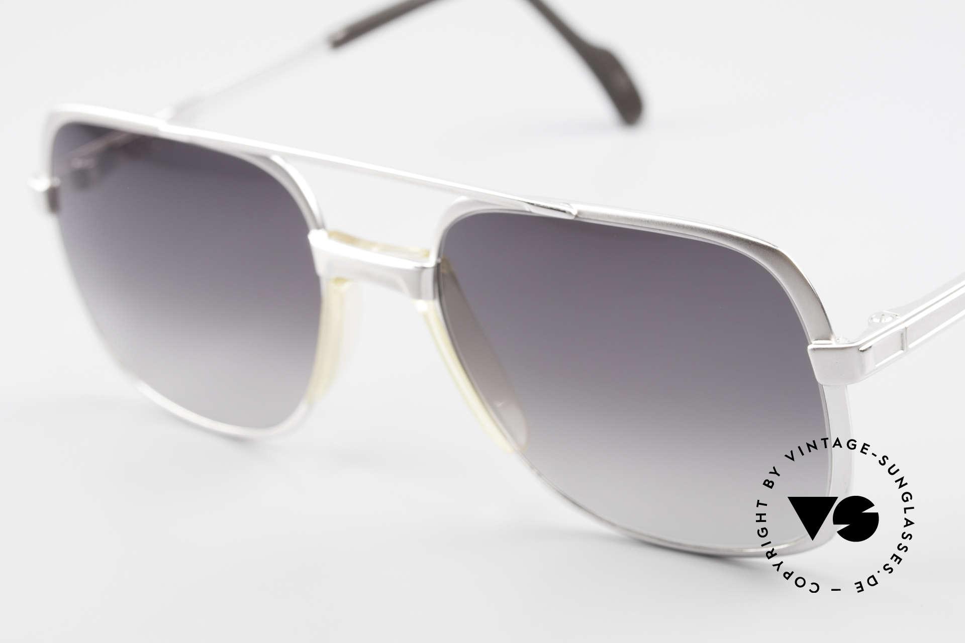 Metzler 0766 1980's Old School Sunglasses, unworn with flexible spring hinges in L size 56/20, Made for Men