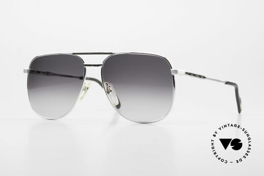 Metzler 0782 80's Men's Sunglasses Aviator Details