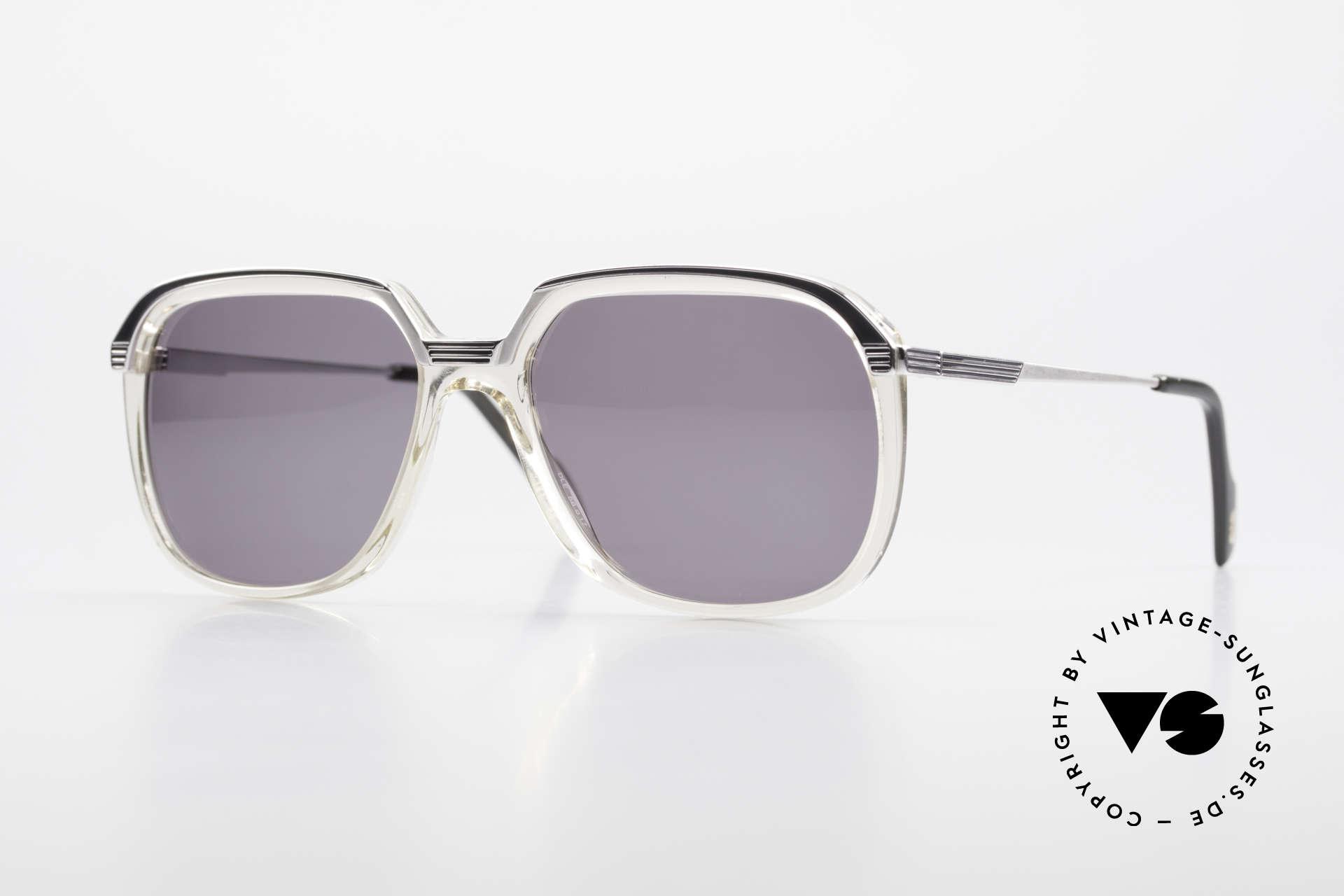 Metzler 6620 True Vintage 80's Sunglasses, elegant men's sunglasses by Metzler from the 1980's, Made for Men