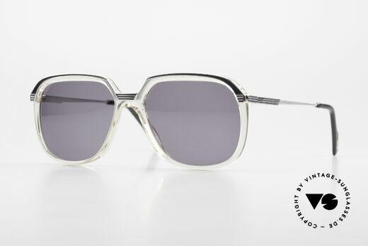 Metzler 6620 True Vintage 80's Sunglasses Details