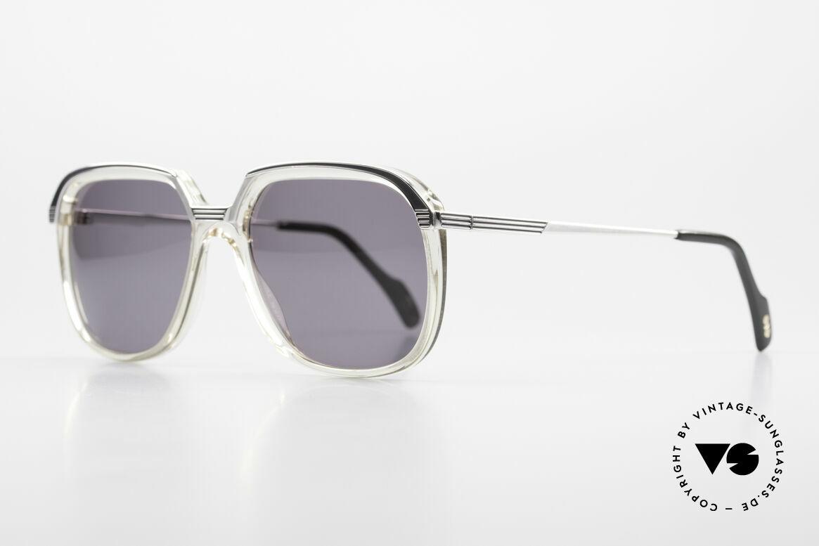 Metzler 6620 True Vintage 80's Sunglasses, metal frame & acetate front firmly screwed together, Made for Men