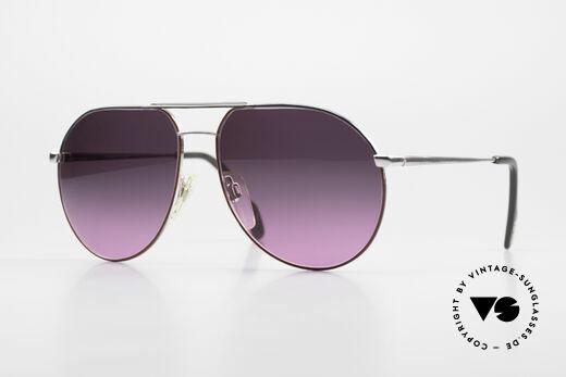 Metzler 0881 Rare 80's Aviator Sunglasses Details