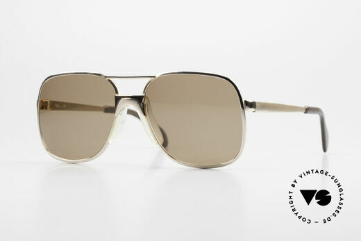 Metzler 7680 Small 80's Frame Gold Plated Details