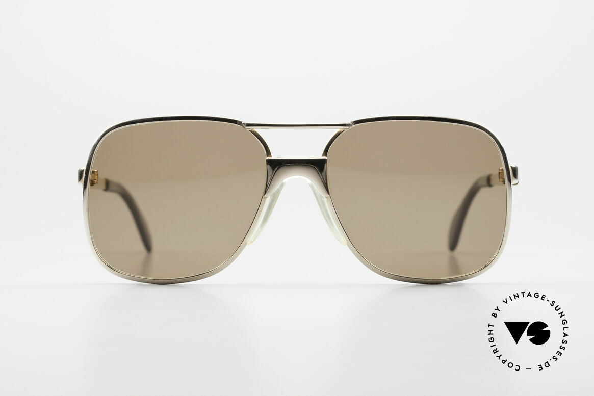 Metzler 7680 Small 80's Frame Gold Plated, METZLER was the BENCHMARK for best quality, Made for Men