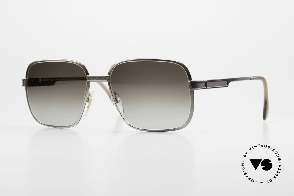 Neostyle Society 190 80's Haute Couture Sunglasses, 80's Society Series by Neostyle, model 190, 58/18, Made for Men