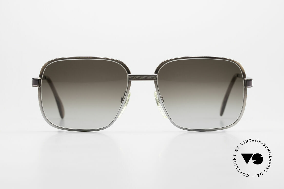 Neostyle Society 190 80's Haute Couture Sunglasses, gentlemen's 'haute couture' from the early 1980's, Made for Men