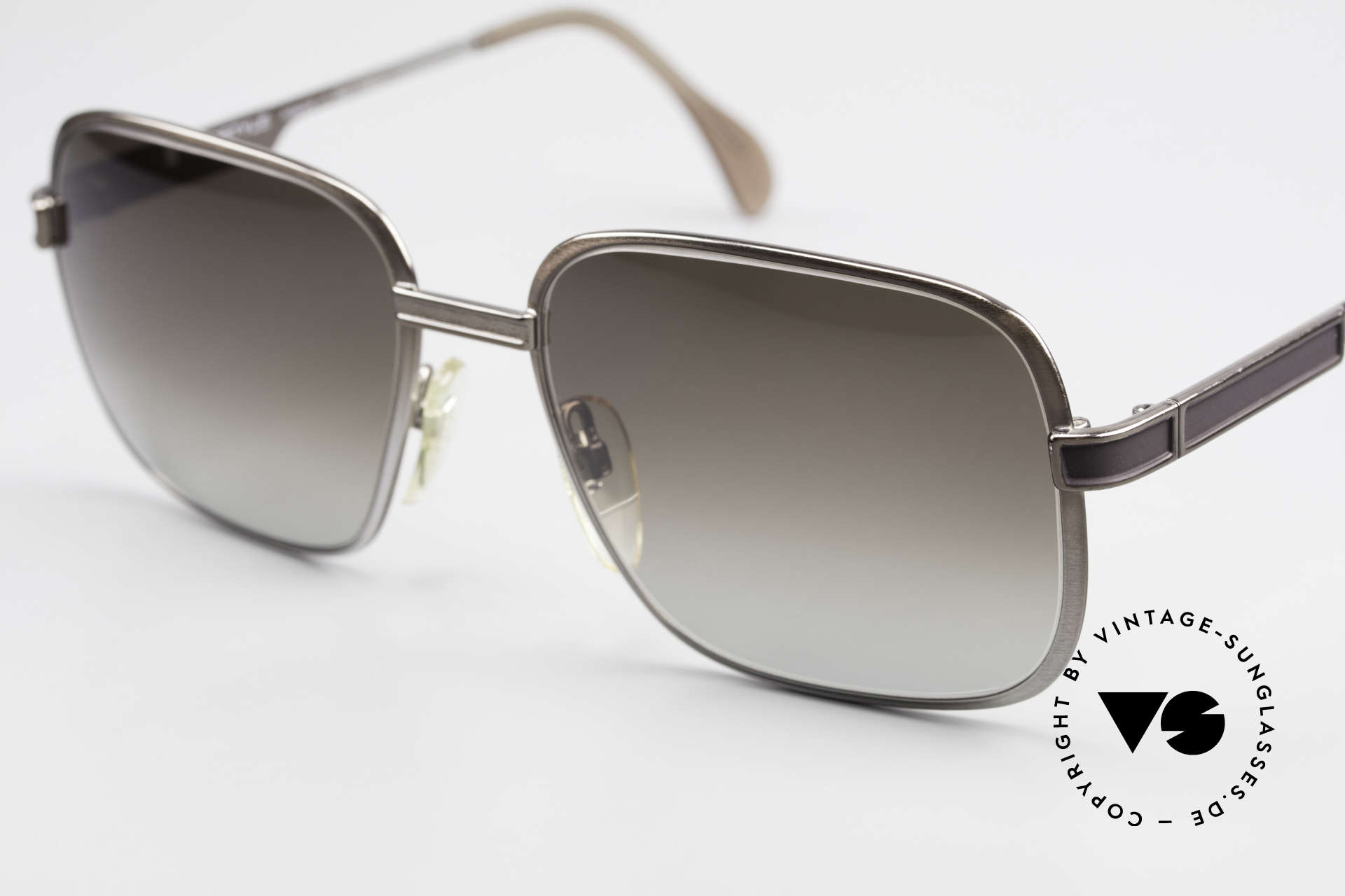 Neostyle Society 190 80's Haute Couture Sunglasses, unworn (like all our Neostyle gentlemen's shades), Made for Men