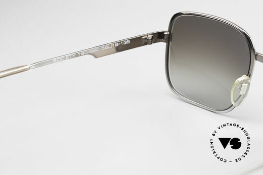 Neostyle Society 190 80's Haute Couture Sunglasses, very interesting frame finish looks gunmetal/gray, Made for Men