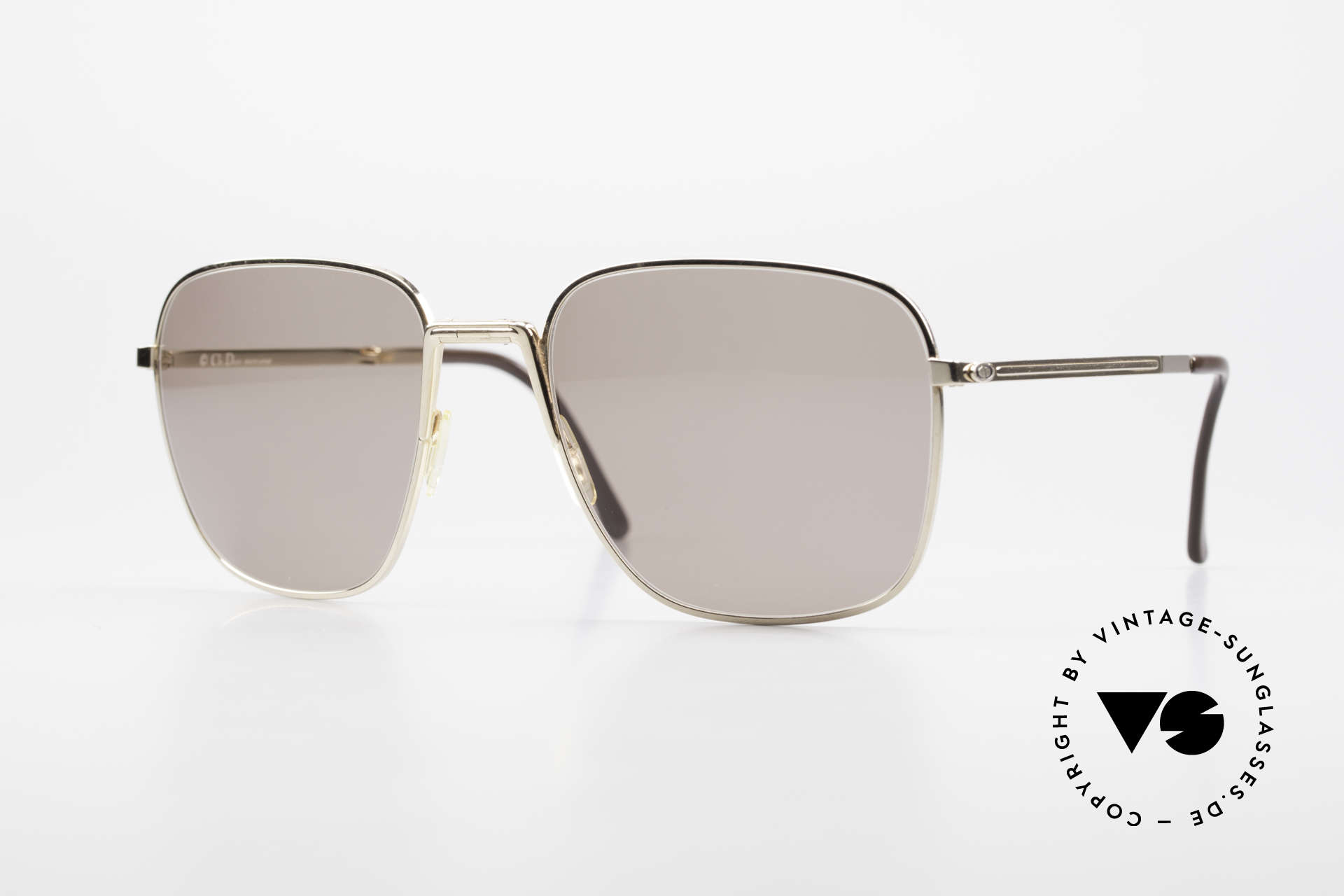 Christian Dior 2287 Monsieur Folding Sunglasses, unique 1980's designer sunglasses by Christian DIOR, Made for Men