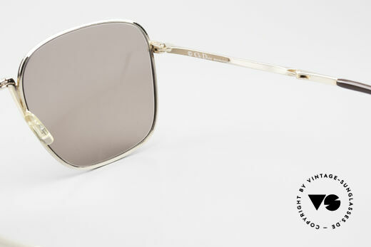 Christian Dior 2287 Monsieur Folding Sunglasses, brown sun lenses could be replaced with prescriptions, Made for Men
