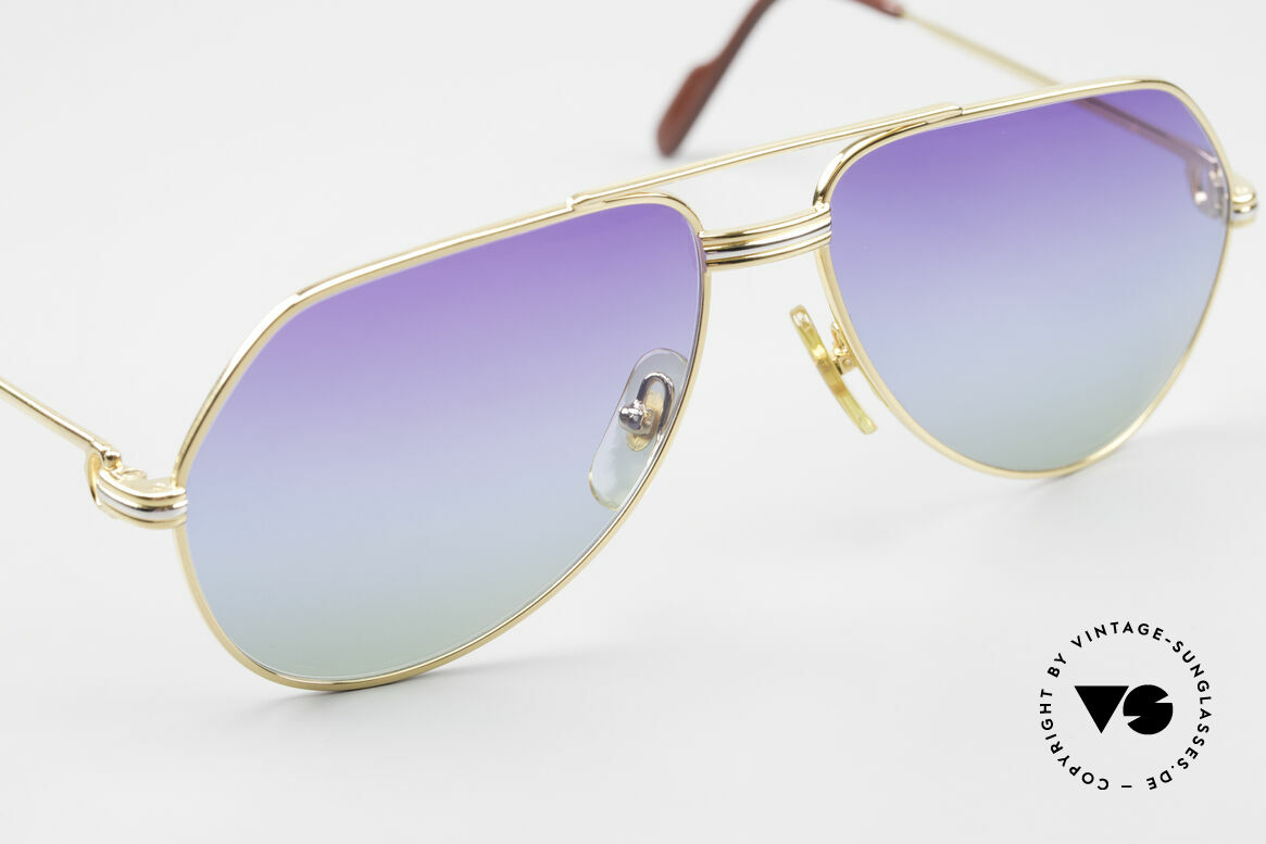 Cartier Vendome LC - S 80's Sunglasses Polar Lights, 2nd hand model, but in mint condition with Cartier box, Made for Men and Women