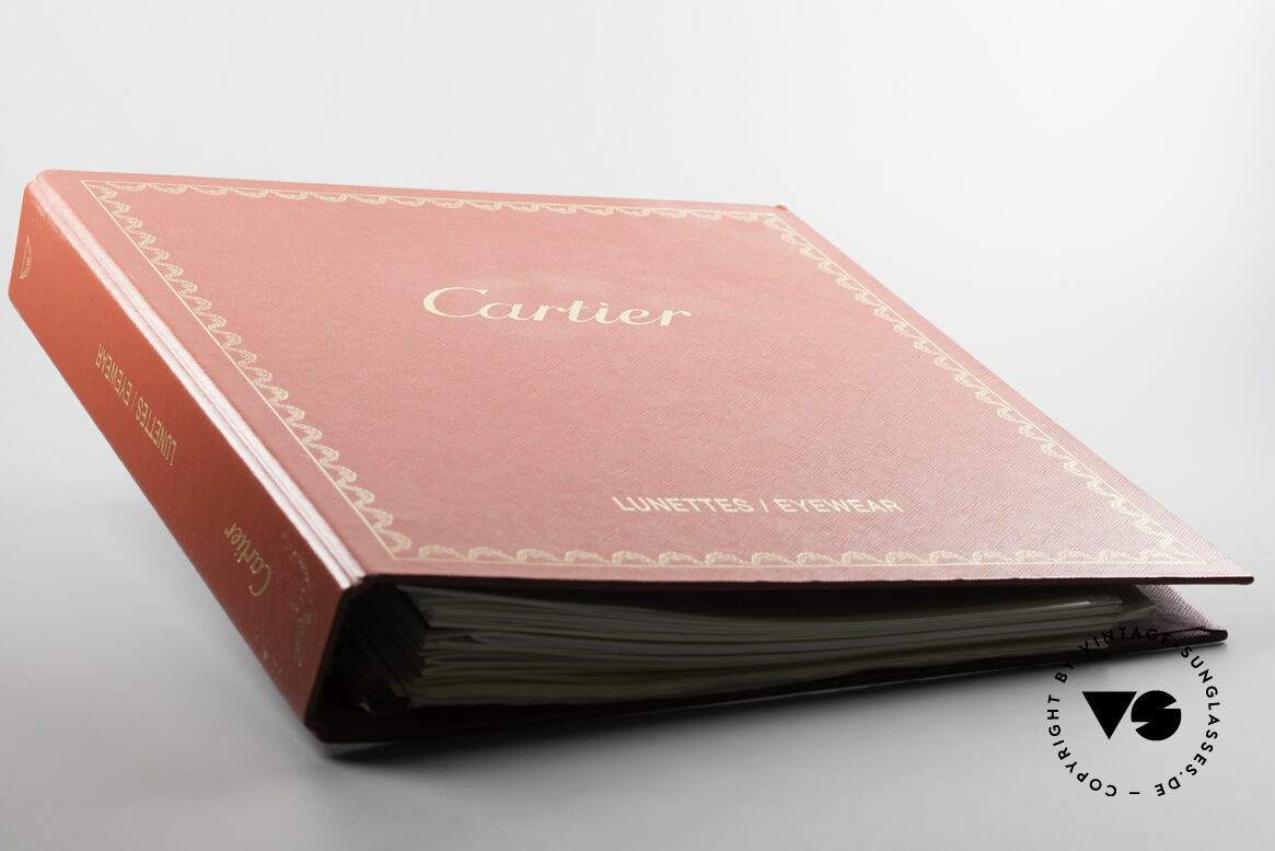 Cartier_ Catalog Cartier Journal And Price Lists, approx. 30 mixed original CARTIER catalogue pages, Made for Men and Women