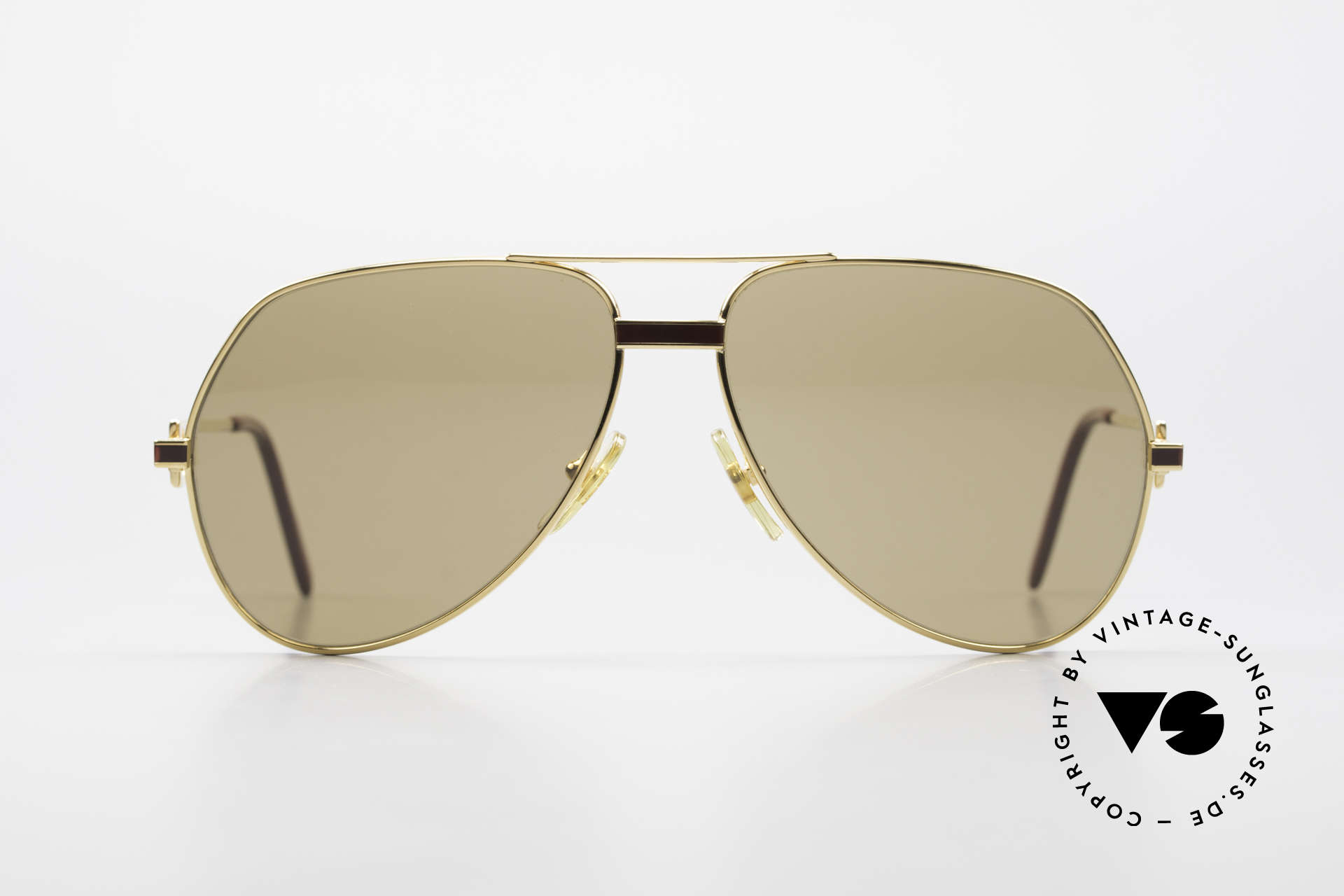 """Cartier Vendome Laque - L Mystic Cartier Mineral Lenses, mod. """"Vendome"""" was launched in 1983 & made till 1997, Made for Men"""