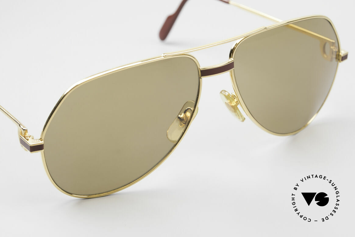 Cartier Vendome Laque - L Mystic Cartier Mineral Lenses, ! BREATH on the sun lenses to make the logo VISIBLE!, Made for Men