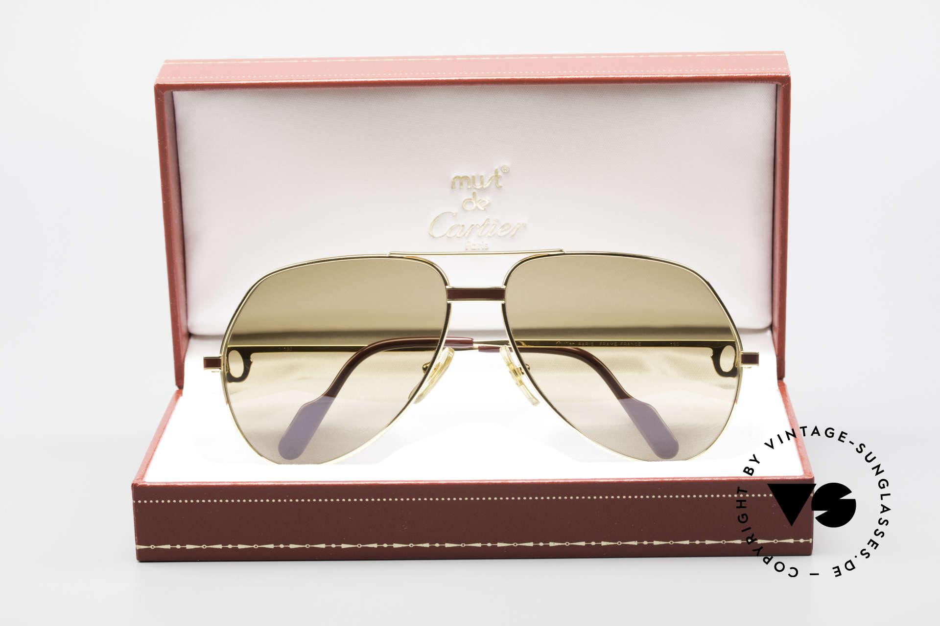 Cartier Vendome Laque - L Mystic Cartier Mineral Lenses, NO RETRO shades, but a rare old CARTIER ORIGINAL!, Made for Men