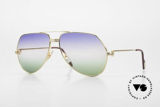 Cartier Vendome LC - L Rare Luxury Sunglasses 80's Details