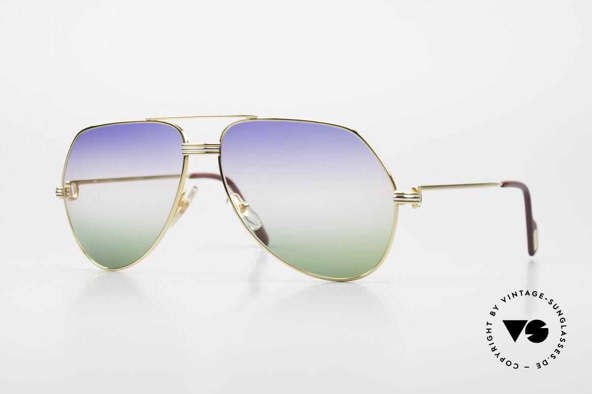 Cartier Vendome LC - L Rare Luxury Sunglasses 80's, Vendome = most famous vintage sunglasses by CARTIER, Made for Men