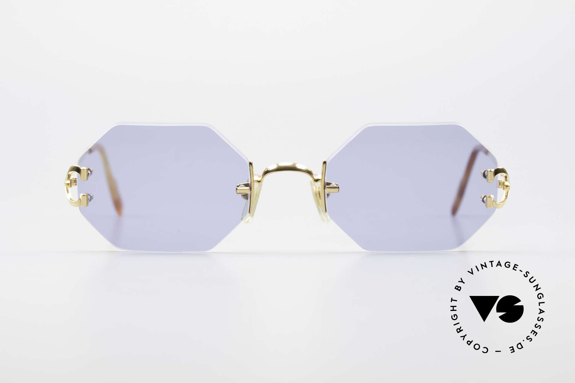 Cartier Rimless Octag Octag Shades One of a Kind, model of the rimless series with new OCTAG lenses, Made for Men and Women