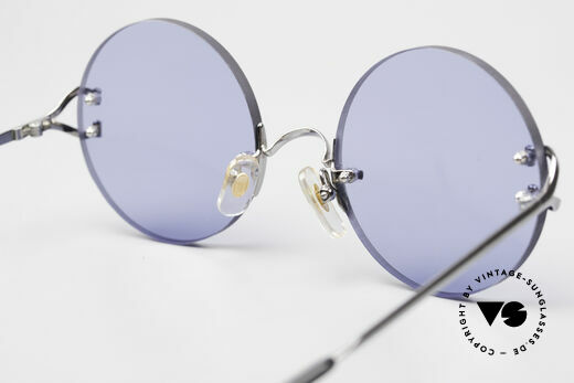 Cartier Madison Round Sunglasses Gunmetal, NO RETRO SHADES, but a rare old Cartier ORIGINAL, Made for Men and Women