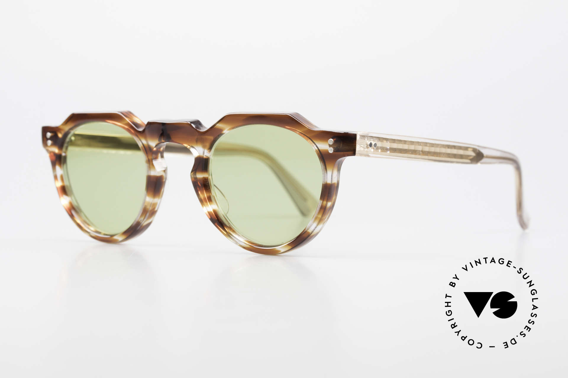 Lesca Panto 6mm Antique 1960's Sunglasses, made in France; WITHOUT any MARKS or inscriptions, Made for Men and Women
